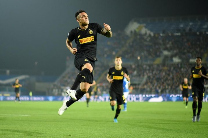 Lautaro Martinez zabio je prvi pogodak na utakmici za Inter/Foto REUTERS