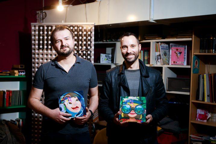 Danijel Martinović i Ivo Šegota   Foto/Milan Sabic/PIXSELL
