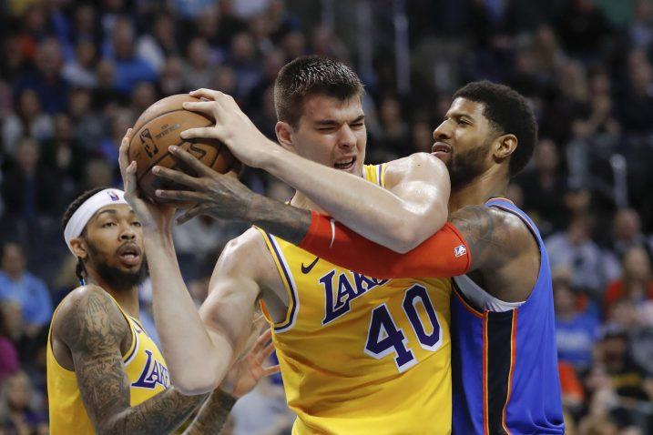 Ivica Zubac (LA Lakers)/Foto REUTERS