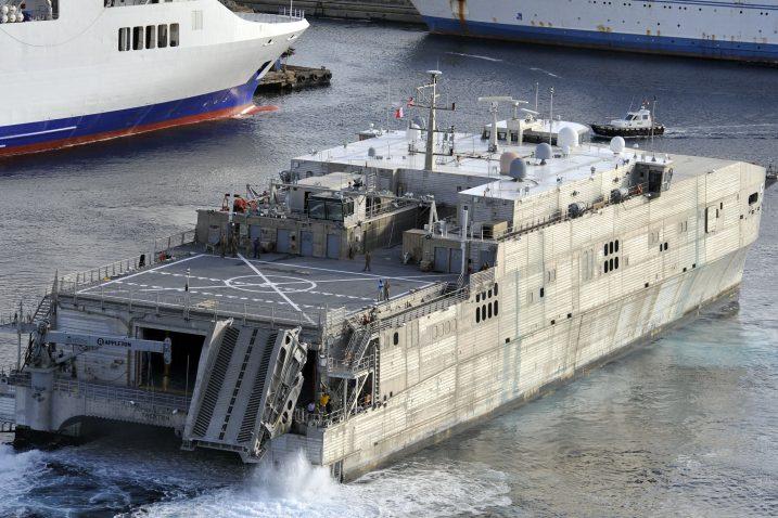 Radovi na američkom brodu »Trenton« trajat će do veljače 2020. / Foto VEDRAN KARUZA