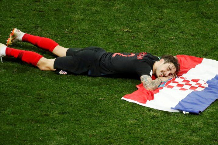 Šime Vrsaljko i suigrači odveli su nogometnu reprezentaciju do finala SP-a/Foto REUTERS