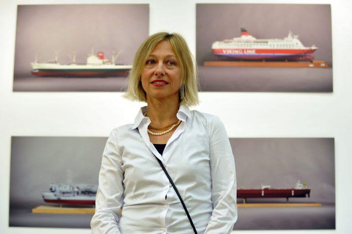 Duška Boban u Tehničkom muzeju / Foto D. KOVAČEVIĆ