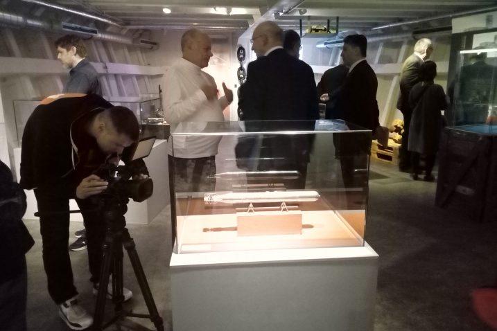"""Izložba """"Prvi na svijetu – 150 godina riječkog torpeda"""" u Rostocku / Foto Muzej grada Rijeke"""