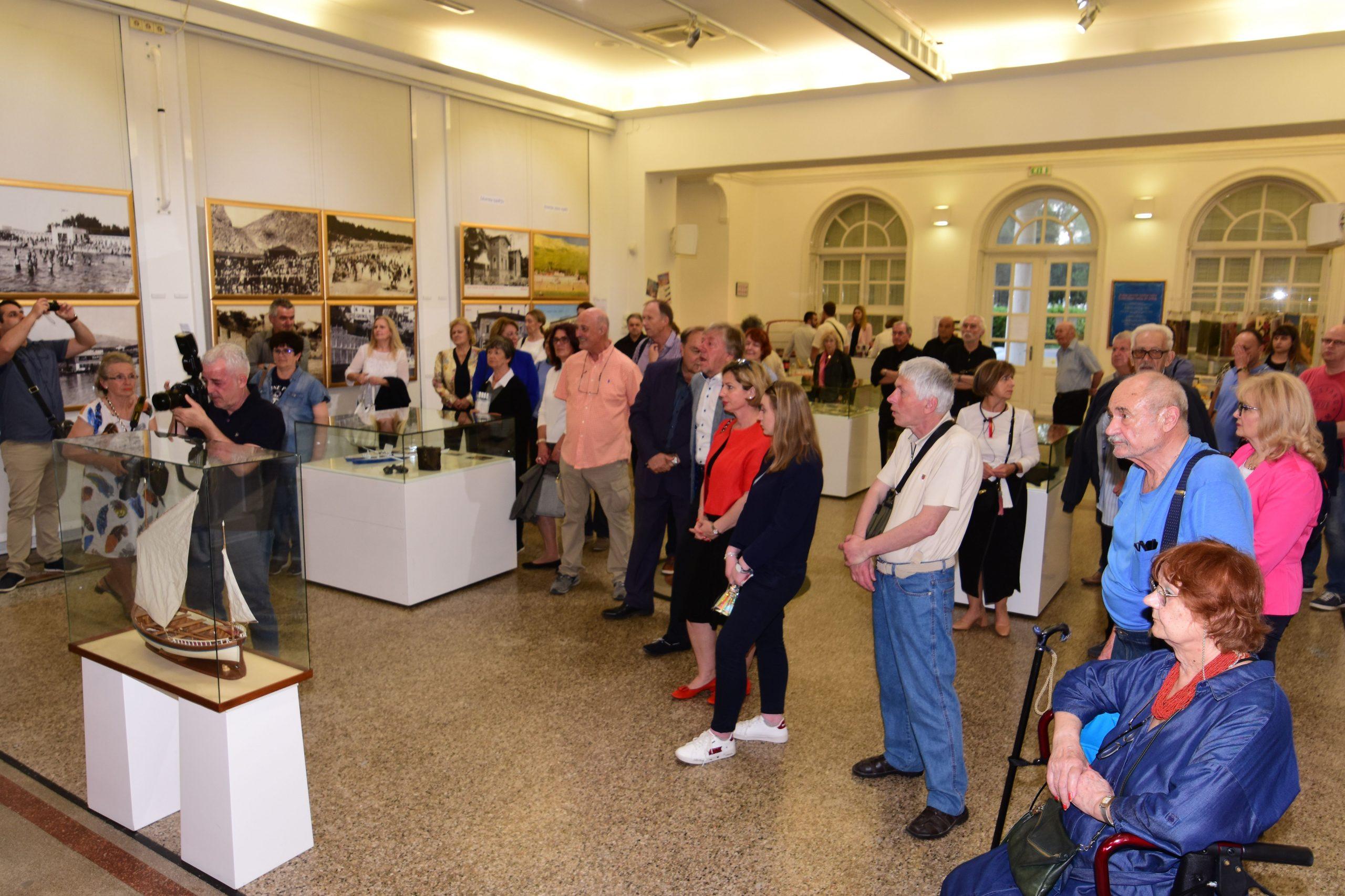 Sa otvorenja izložbe u opatijskom Šporeru