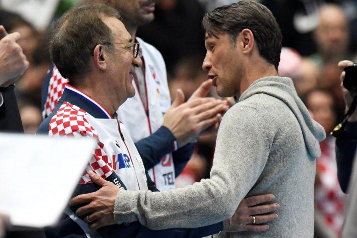 Lino Červar i Niko Kovač/Foto REUTERS