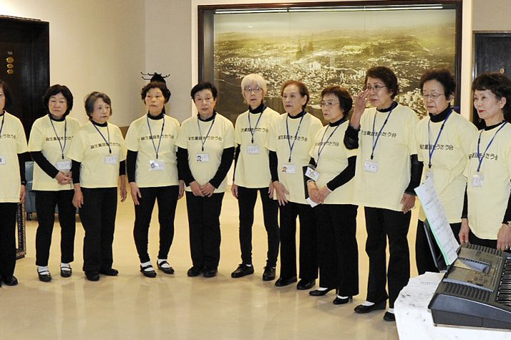 Zbor otpjevao dvije japanske narodne pjesme / Foto Sergej DRECHSLER