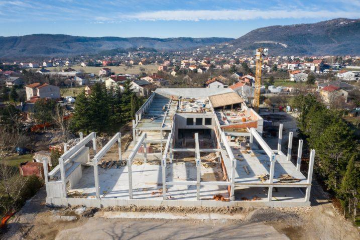 Gradilište škole u Dražicama