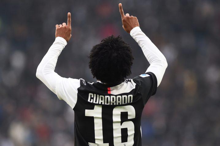 Juan Cuadrado (Juventus)/Foto REUTERS