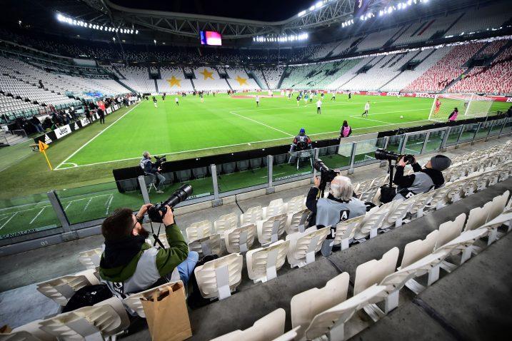 Predstavnici sedme sile bili su jedini gledatelji u Torinu/Foto REUTERS
