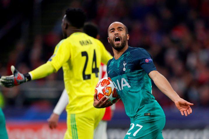 Lucas Moura (Tottenham)/Foto REUTERS