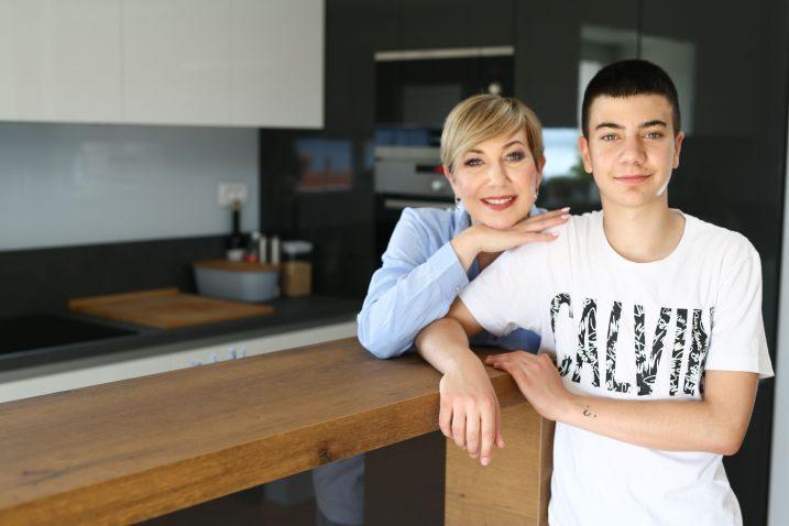 Zdrav način života psihologinja Iva Brozičević Dragičević prakticira i sa svojim sinom Karlom