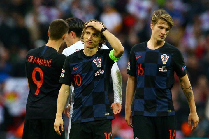 Luka Modrić i Tin Jedvaj/Foto REUTERS