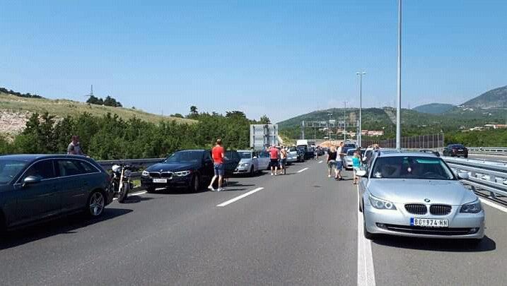 Foto Facebook / Problemi u prometu- Rijeka i okolica
