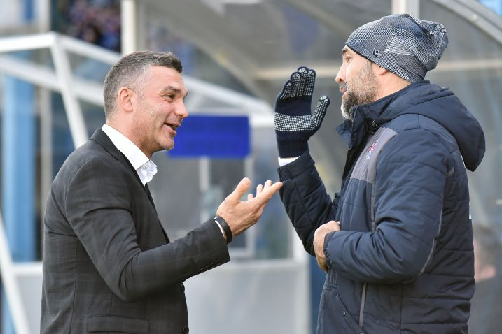 Tomislav Stipić i Igor Tudor/Foto PIXSELL