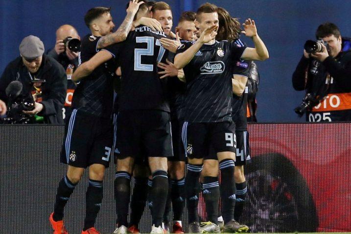 Modri su burno proslavili vodeći pogodak Brune Petkovića/Foto REUTERS
