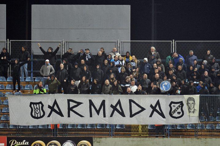 Riječani nisu bez Armadine podrške u Varaždinu/Foto D. KOVAČEVIĆ