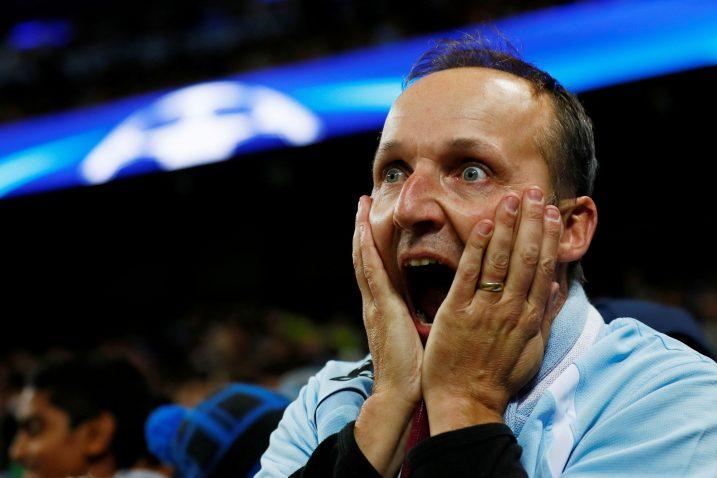 Navijači Manchester Cityja su šokirani/Foto REUTERS