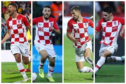 Bruno Petković, Nikola Vlašić, Borna Barišić i Josip Brekalo/Foto PIXSELL