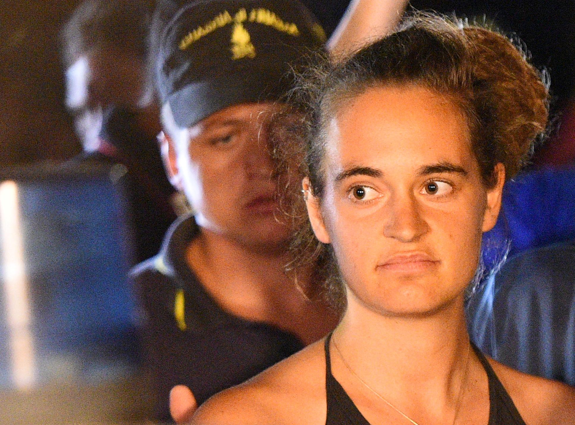 Carola Rackete / Foto Reuters