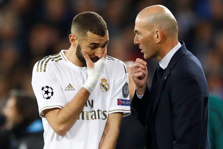 Karim Benzema i Zinedine Zidane/Foto REUTERS