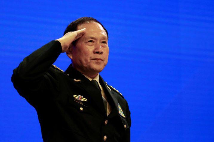Wei Fenghe / REUTERS