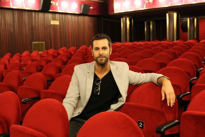 Boris Štok u Art-kinu Croatia
