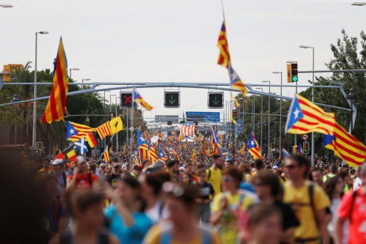 Zbog katalonskih prosvjeda El Clasico je morao biti odgođen/Foto REUTERS