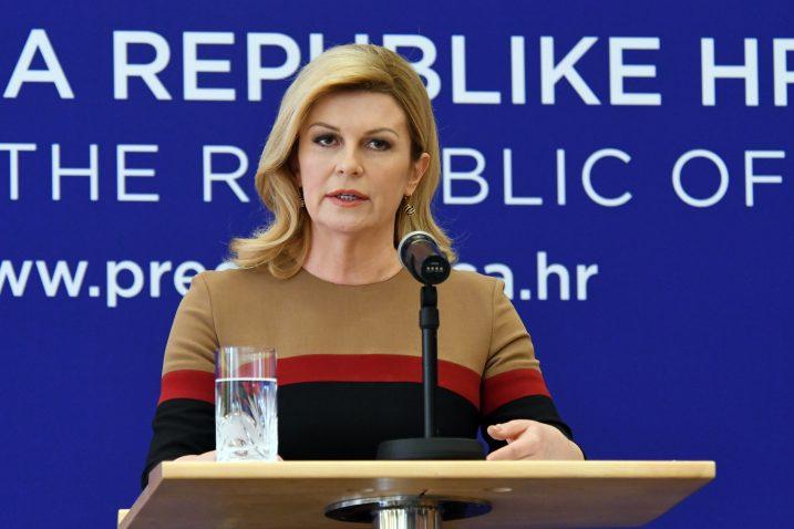 Ja sam neosporno predsjednica svih hrvatskih građana i tako se ponašam - Kolinda Grabar-Kitarović / Foto Denis LOVROVIĆ