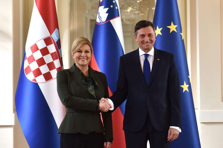 Kolinda Grabar-Kitarović i Borut Pahor