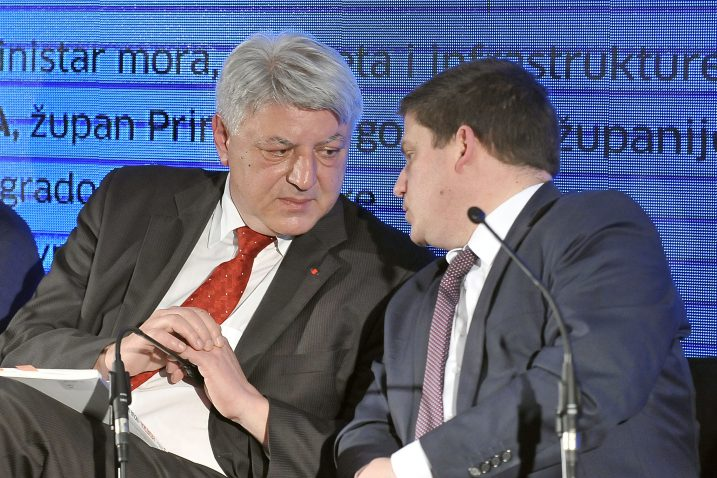 Zlatko Komadina i Oleg Butković / Foto: V. KARUZA