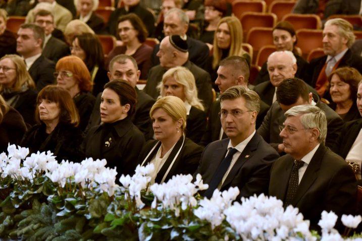 S komemoracije za Branka Lustiga