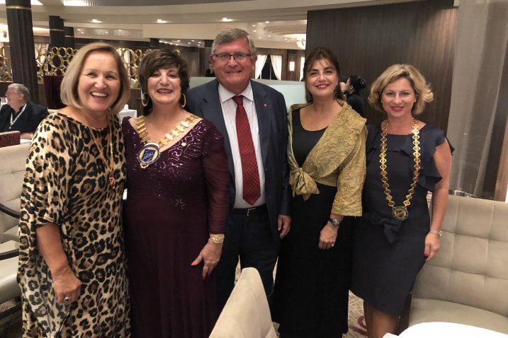 Katica Hauptfeld, Lavonne Vitman, Daniela Ortelo  i Irena Peršić Živadinov u Miamiju