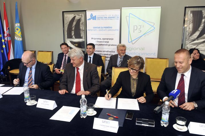Memorandum o suradnji potpisali predstavnici Sveučilišta i Županije / Snimio Vedran KARUZA