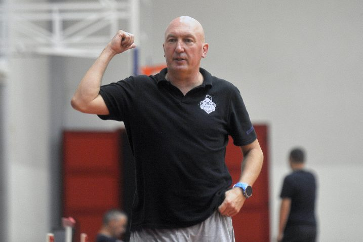 Damir Rajković, trener košarkaša AO Škrljeva/Foto  R. BRMALJ