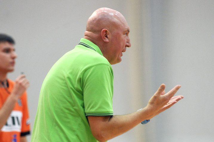 Damir Rajković, trener košarkaša AO Škrljeva/Foto Arhiva NL