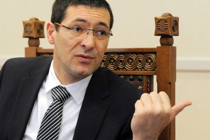 Kotromanović tvrdi kako predsjednica ni nakon pet godina službe ne zna Zakon / Snimio Darko JELINEK