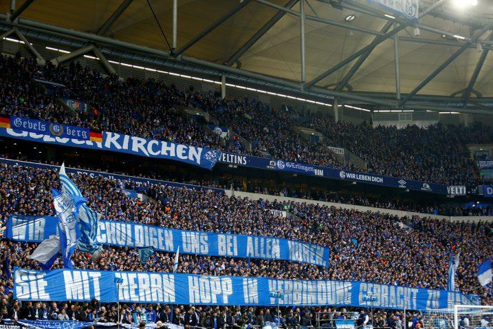 Navijači Schalkea pridružili su se protestima navijača kontra vlasnika Hoffenheima/Foto REUTERS