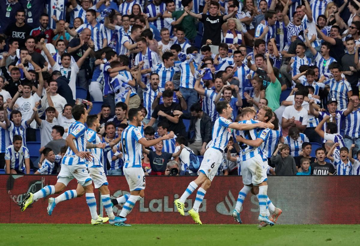 Real Sociedad/Foto REUTERS