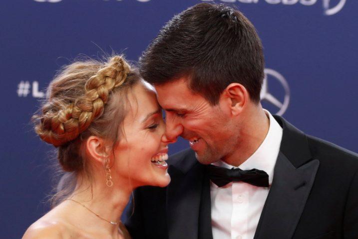 Jelena i Novak Đoković/Foto REUTERS