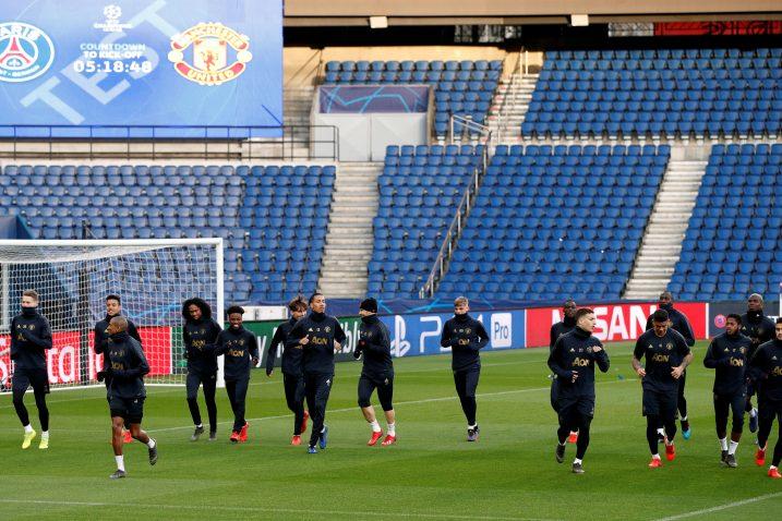 Nogometaši Manchester Uniteda treba čudo u Parizu/Foto REUTERS