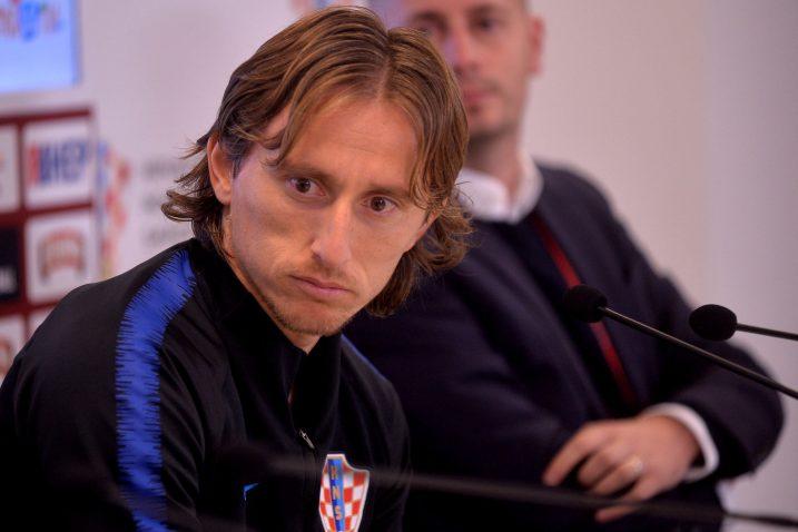 Luka Modrić/Foto D. ŠKOMRLJ