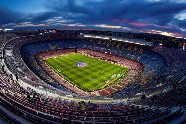 Camp Nou u Barceloni/Foto REUTERS