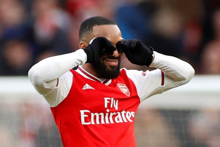 Alexandre Lacazette (Arsenal)/Foto REUTERS