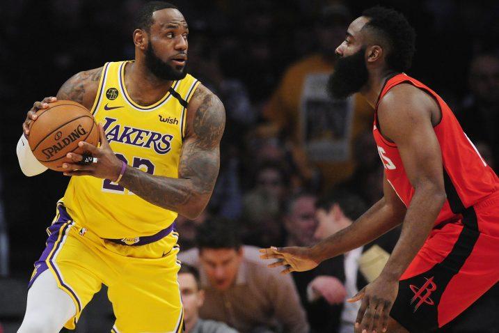 LeBron James i James Harden zaigrat će zajedno u Chicagu/Foto REUTERS