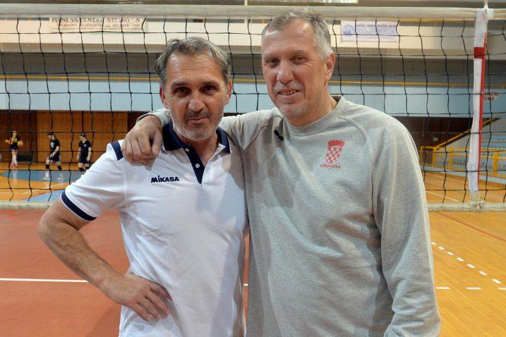 Leo Barić i Igor Lovrinov/Foto D. ŠKOMRLJ