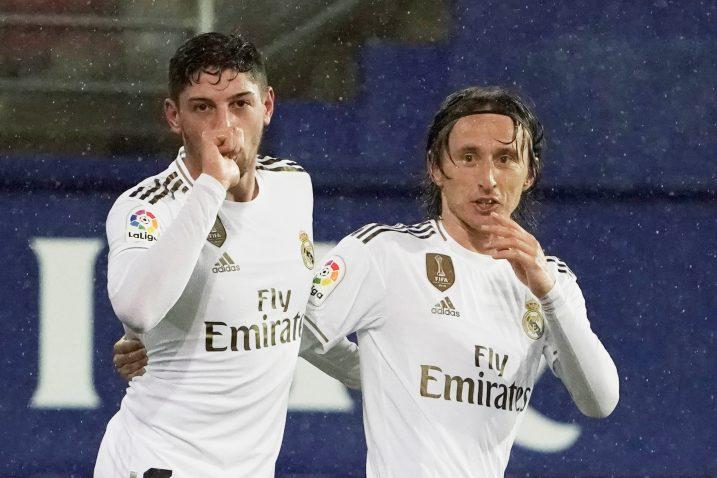 Federico Valverde i Luka Modrić/Foto REUTERS