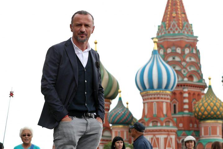 Na Crvenom trgu u Moskvi - Mario Stanić / Foto Pixsell