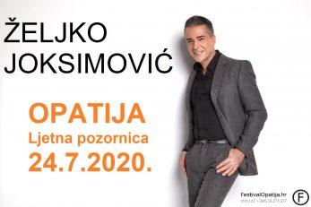 Željko Joksimović u Opatiji /PR