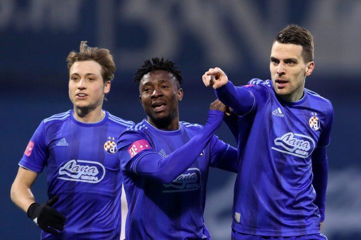 Lovro Majer, Iyayi Atiemwen i Komnen Andrić (Dinamo)/Foto PIXSELL