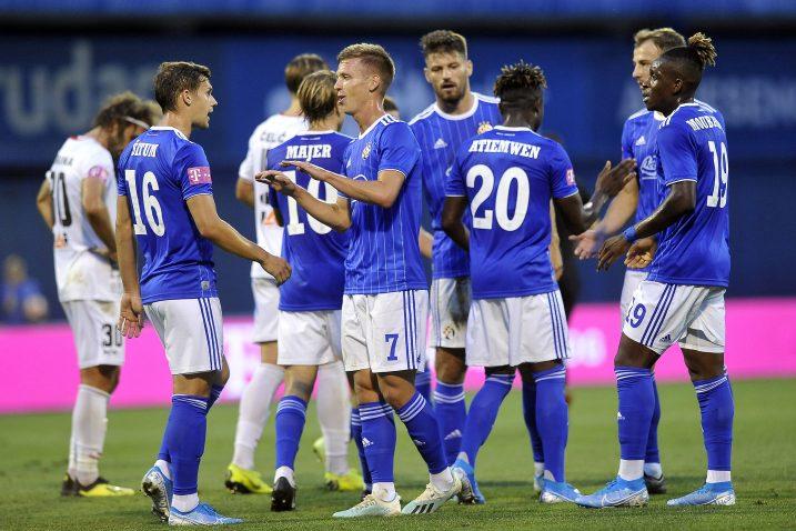 Nogometaši Dinama ostvarili su i treću pobjedu u trećem nastupu u Prvoj HNL ove sezone/D. KOVAČEVIĆ